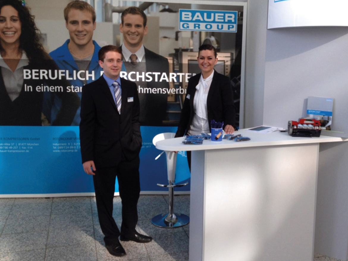 BAUER GROUP at IKOM 2012, Munich