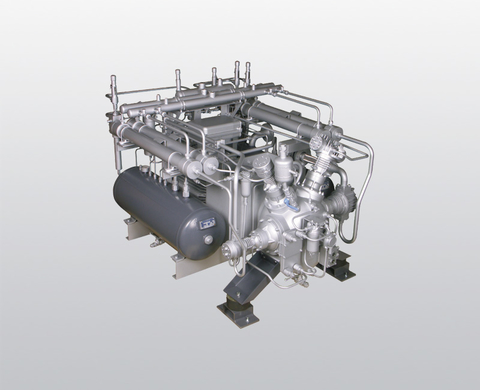 BAUER GIB 24 water-cooled, high-pressure booster