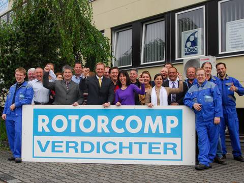 The ROTORCOMP team